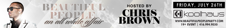 Chris Brown Leaderboard banner ad by bannerite